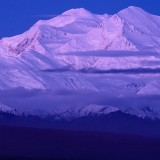 Dawn over Mt McKinley. Denali National Park.