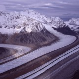 Yentna Glacier and its tributaries, Alaska Range.